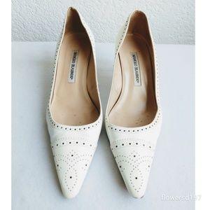 Manolo Blahnik Heels Size 37.5